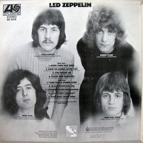 LED ZEPPELIN (студийные альбомы и концертники)