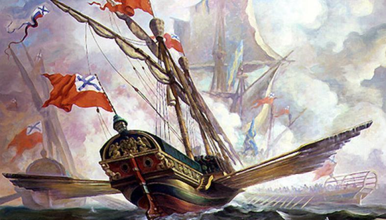 Битва при Гангуте 1714 год