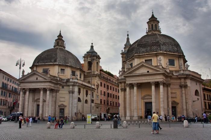Римские инсулы - что-то вроде современных квартир.
